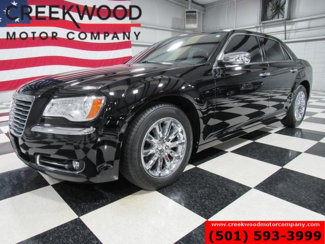 2012 Chrysler 300 Limited Black Leather Heated Chrome 31mpg CLEAN