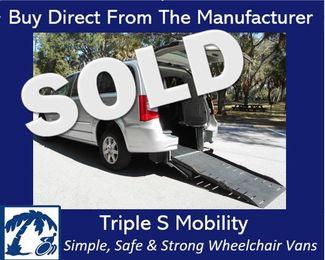 2012 Chrysler Town & Country Touring Wheelchair Van Pinellas Park, Florida