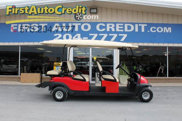 2012 Club Car Gas Precedent Limo Golf Cart