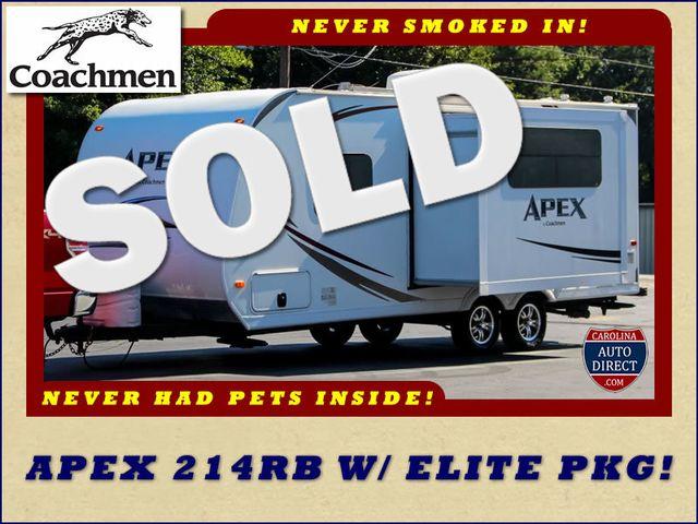 2012 Coachmen Apex 214RB W/ ELITE PKG! Mooresville , NC 0