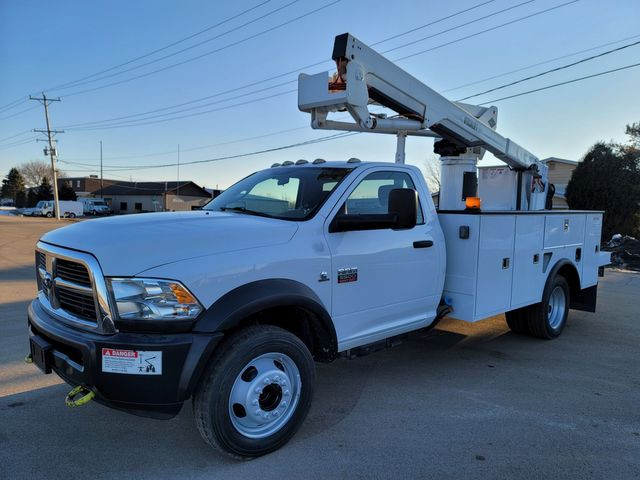 2012 Dodge 5500 VERSALIFT 45FT WORKING HEIGHT Lake In The Hills, IL