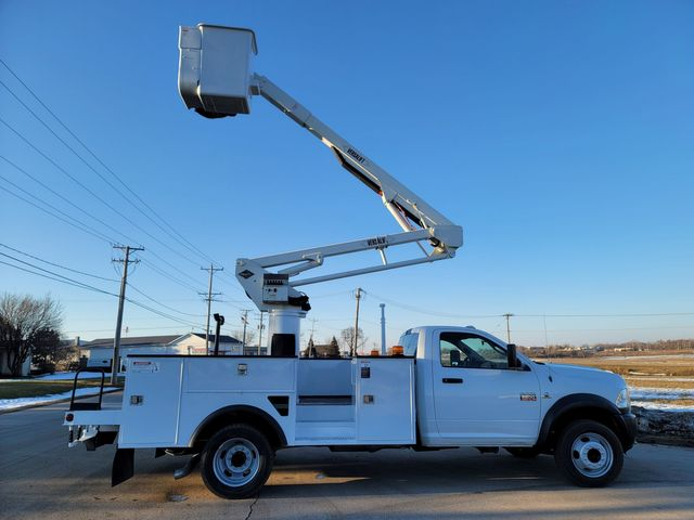 2012 Dodge 5500 VERSALIFT 45FT WORKING HEIGHT Lake In The Hills, IL 5