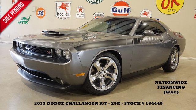 2012 Dodge Challenger R/T Plus 6 SPD,ROOF,NAV,HTD LTH,CHROME 20'S,29K