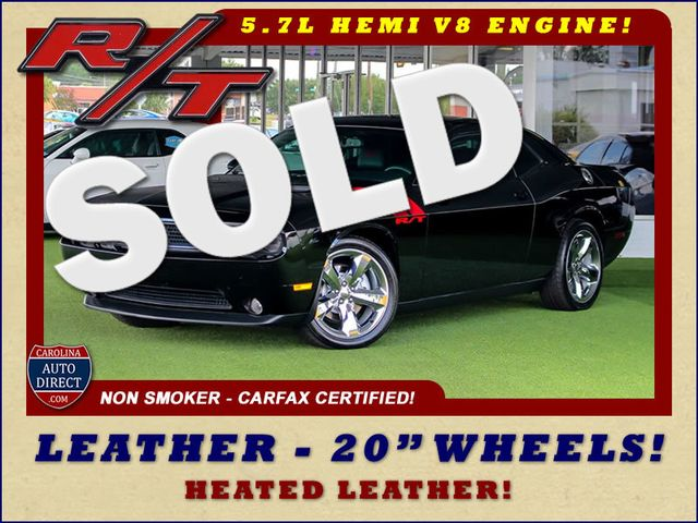 "2012 Dodge Challenger R/T RWD - LEATHER - 20"" WHEELS - 6SP MANUAL! Mooresville , NC"