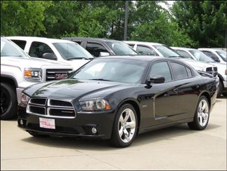2012 Dodge Charger RT Plus Road &Track Pkg Black with Red Leather  in  Iowa