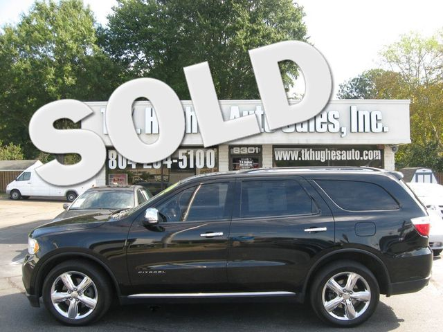 2012 Dodge Durango AWD Citadel Richmond, Virginia 0