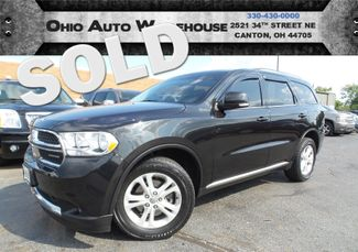 2012 Dodge Durango Crew AWD 3rd Row Clean Carfax We Finance | Canton, Ohio | Ohio Auto Warehouse LLC in  Ohio