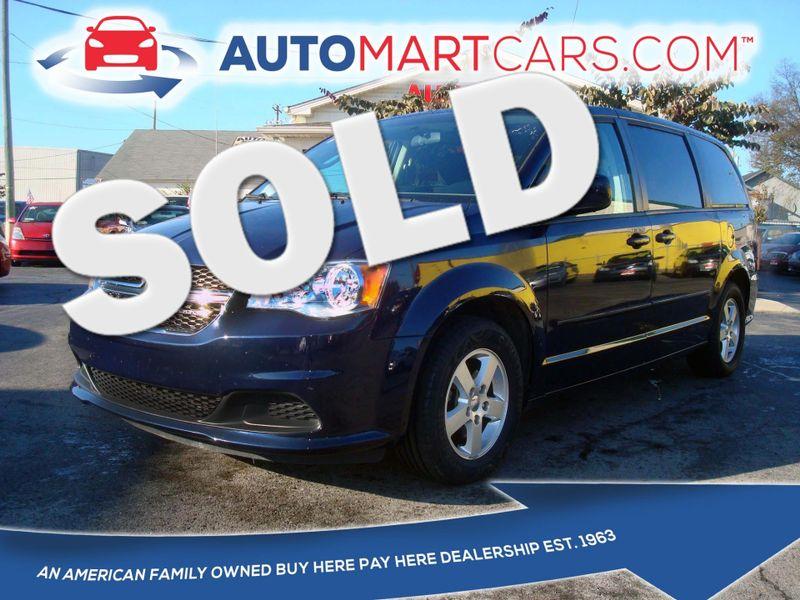 2012 Dodge Grand Caravan Se Nashville Tennessee Auto Mart Used