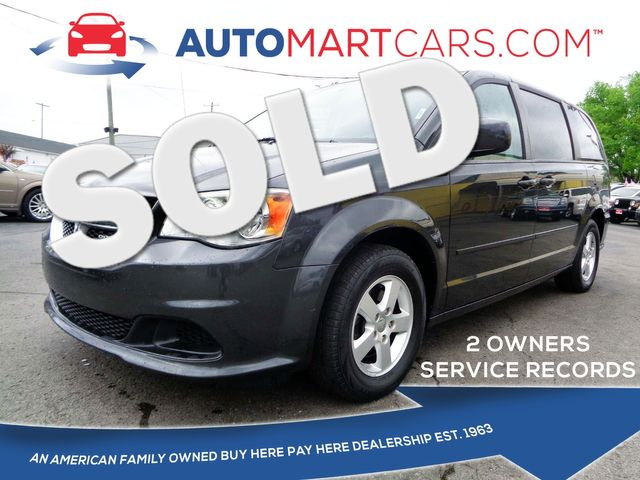 2012 Dodge Grand Caravan SXT | Nashville, Tennessee | Auto Mart Used Cars Inc. in Nashville Tennessee