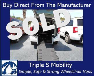 2012 Dodge Grand Caravan Sxt Wheelchair Van Handicap Ramp Van Pinellas Park, Florida