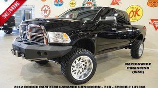 2012 Dodge RAM 3500 Laramie Longhorn 4X4 DIESEL,LIFTED,NAV,REAR DVD... in Carrollton TX, 75006