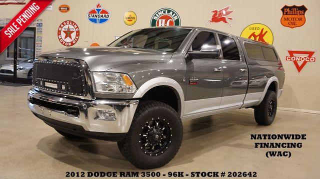2012 Dodge Ram 3500 Laramie 4X4 LIFTED,ROOF,NAV,HTD LTH,BED CAP,96K