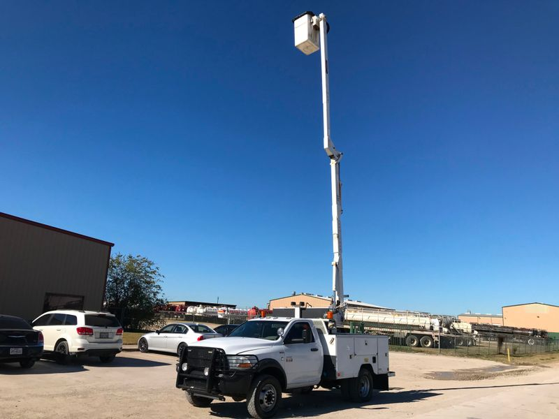 2012 Dodge RAM 5500 4X4 BUCKET TRUCK ST  city TX  North Texas Equipment  in Fort Worth, TX