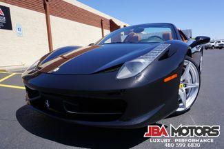 2012 Ferrari 458 Italia Spider Convertible ~ 1 Owner Clean Carfax LOADED | MESA, AZ | JBA MOTORS in Mesa AZ