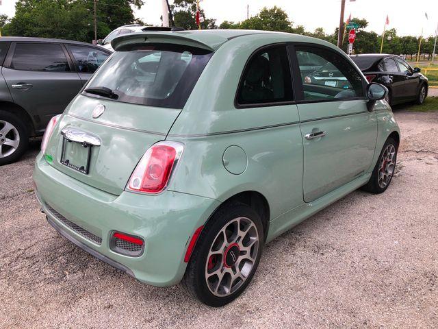 2012 Fiat 500 Sport Houston, TX 3
