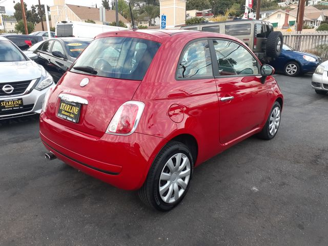 2012 Fiat 500 Pop Los Angeles, CA 5