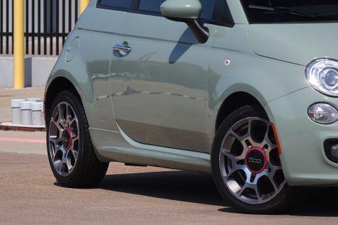 2012 Fiat 500 Sport* Sunroof* Manual* EZ Finance** | Plano, TX | Carrick's Autos in Plano, TX