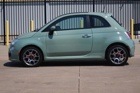 2012 Fiat 500 Sport* Sunroof* Manual* EZ Finance** | Plano, TX | Carrick's Autos in Plano, TX