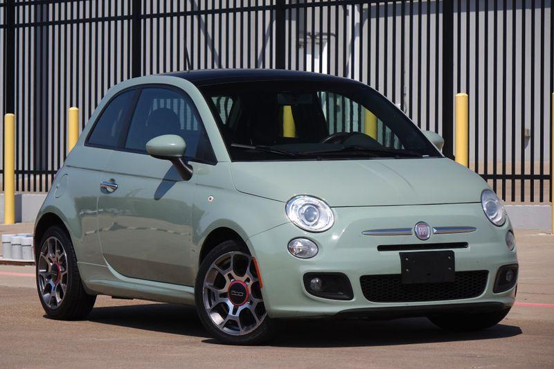 2012 Fiat 500 Sport* Sunroof* Manual* EZ Finance**   Plano, TX   Carrick's Autos in Plano TX