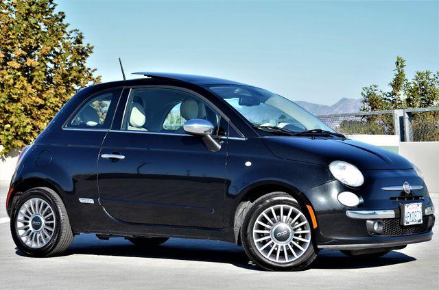 2012 Fiat 500 Lounge Reseda, CA 1