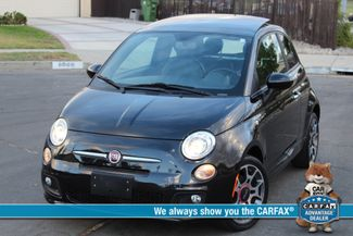 2012 Fiat 500 SPORT PKG 21K MLS SERVICE RECORDS in Woodland Hills CA, 91367