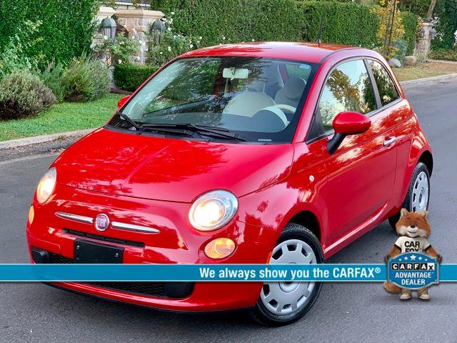 2012 Fiat 500 POP 1-OWNER MANUAL 58K MILES SERVICE RECORDS