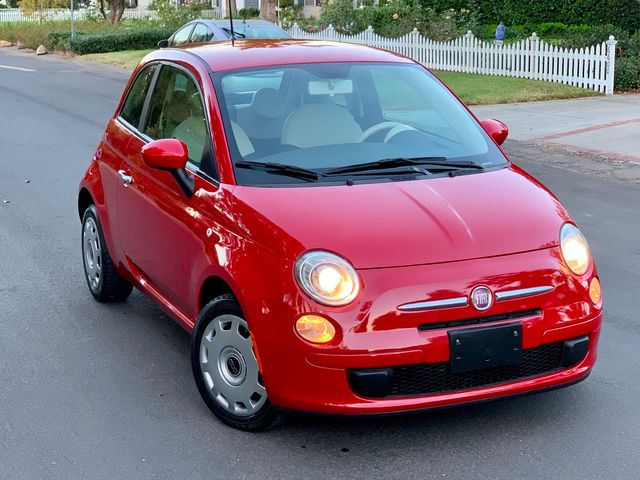 2012 Fiat 500 POP 1-OWNER MANUAL 59K MILES SERVICE RECORDS in Van Nuys, CA 91406