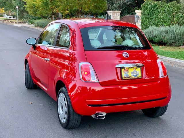 2012 Fiat 500 POP 1-OWNER MANUAL 58K MILES SERVICE RECORDS in Van Nuys, CA 91406