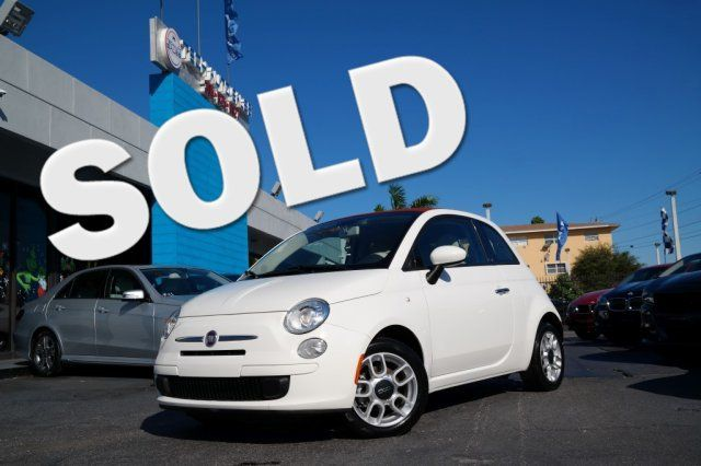 2012 Fiat 500c Pop Hialeah, Florida