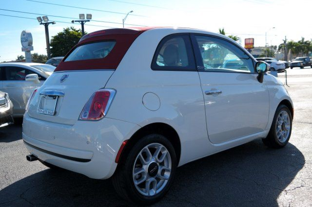 2012 Fiat 500c Pop Hialeah, Florida 3