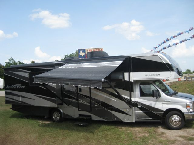 2011 Fleetwood JAMBOREE SPORT 31' DOUBLE SLIDE BUNKHOUSE