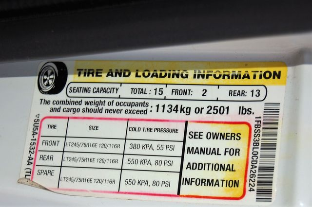 2012 Ford 15 Pass. XLT Charlotte, North Carolina 18