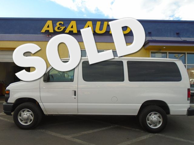 2012 Ford E-Series Cargo Van Super Duty Commercial