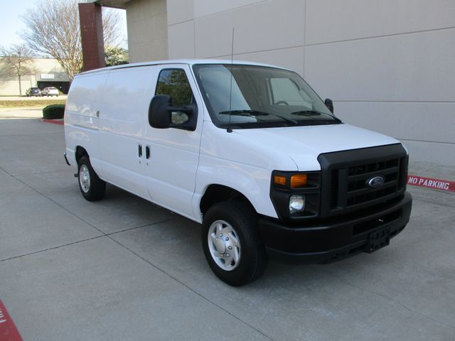 2012 Ford E-Series Cargo Van Commercial Bins and Bulk Head