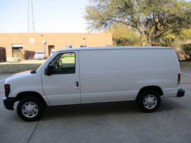 2012 Ford E-Series Cargo Van Commercial Bens and Bulk Head in Plano Texas, 75074