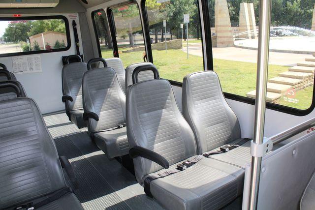 2012 Ford E350 13 Passenger Low Miles Elkhart Coach Shuttle Bus W/Lift Irving, Texas 11