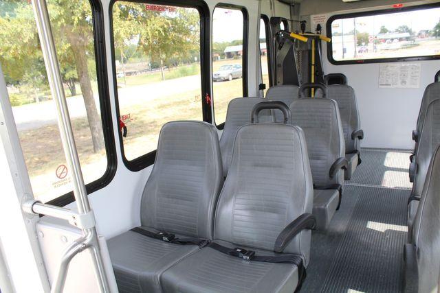2012 Ford E350 13 Passenger Low Miles Elkhart Coach Shuttle Bus W/Lift Irving, Texas 12