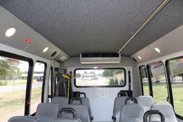 2012 Ford E350 13 Passenger Low Miles Elkhart Coach Shuttle Bus W/Lift Irving, Texas 14