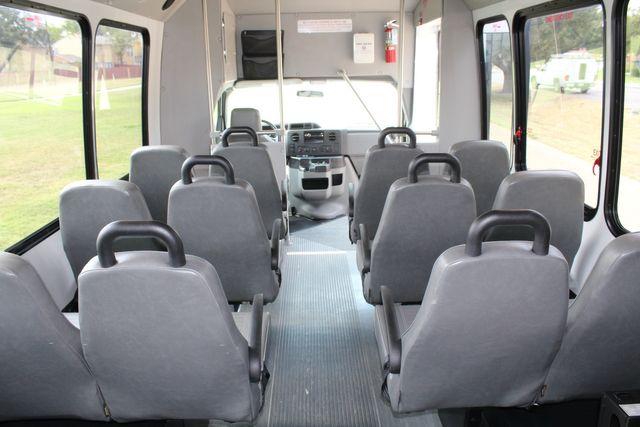 2012 Ford E350 13 Passenger Low Miles Elkhart Coach Shuttle Bus W/Lift Irving, Texas 19