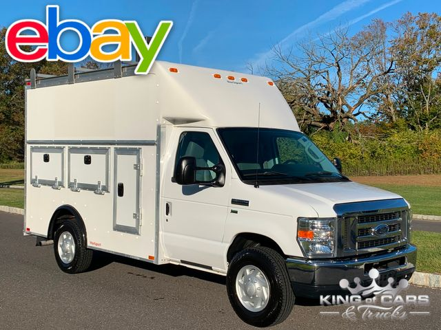 2012 Ford E350 Cutaway WALK IN UTILITY VAN READY FOR WORK
