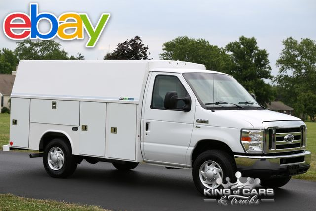 2012 Ford E350 Srw Reading UTILITY SERVICE VAN LOW MILES 2-OWNER WOW