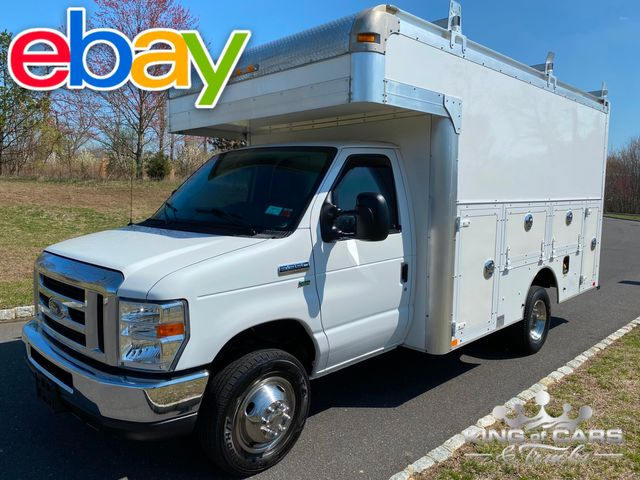 2012 Ford E350 Utility Service STEP WALK IN VAN DRW ONLY 30K MILE WOW