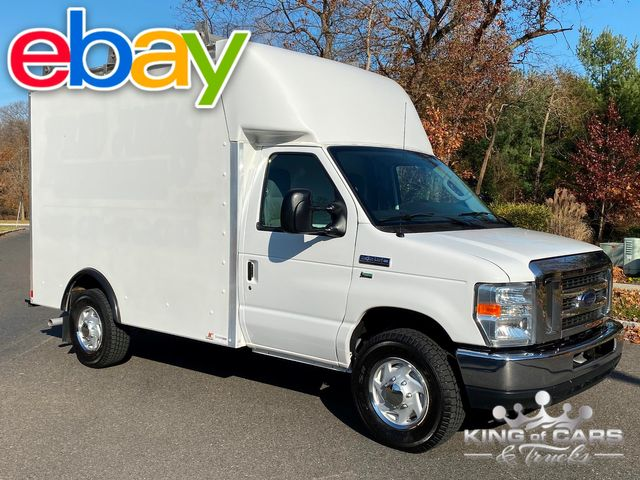 2012 Ford E350 Utility Service STEP WALK IN VAN LOW MILES 5.4L V8