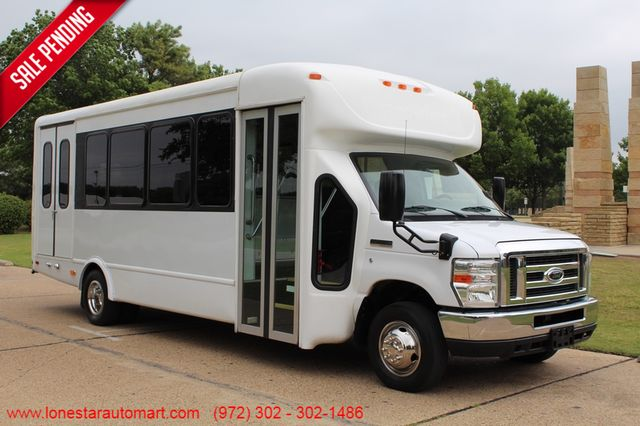 2012 Ford E450 21 Passenger Starcraft Shuttle Bus W