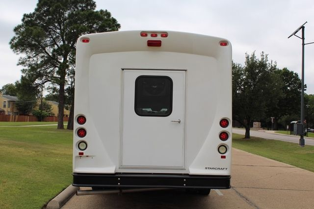 2012 Ford E450 21 Passenger  Starcraft Shuttle Bus W/ Wheelchair Lift Irving, Texas 8