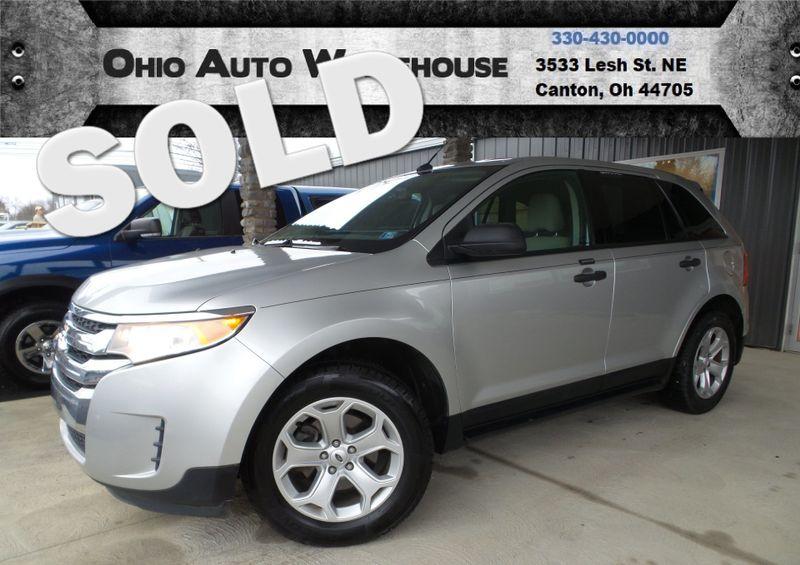 2012 Ford Edge SE EcoBoost 1-Owner Clean Carfax We Finance | Canton, Ohio | Ohio Auto Warehouse LLC in Canton Ohio