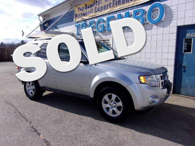 2012 Ford Escape 4x4 Limited