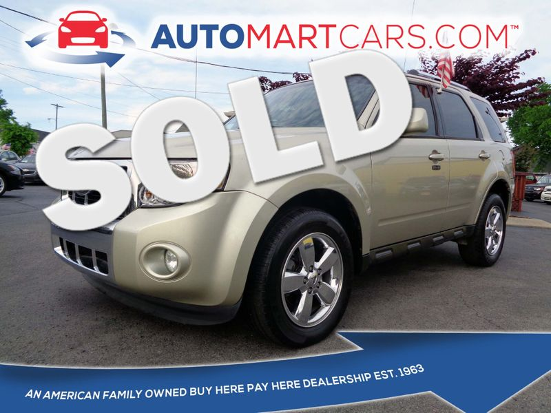 2012 Ford Escape Limited   Nashville, Tennessee   Auto Mart Used Cars Inc. in Nashville Tennessee