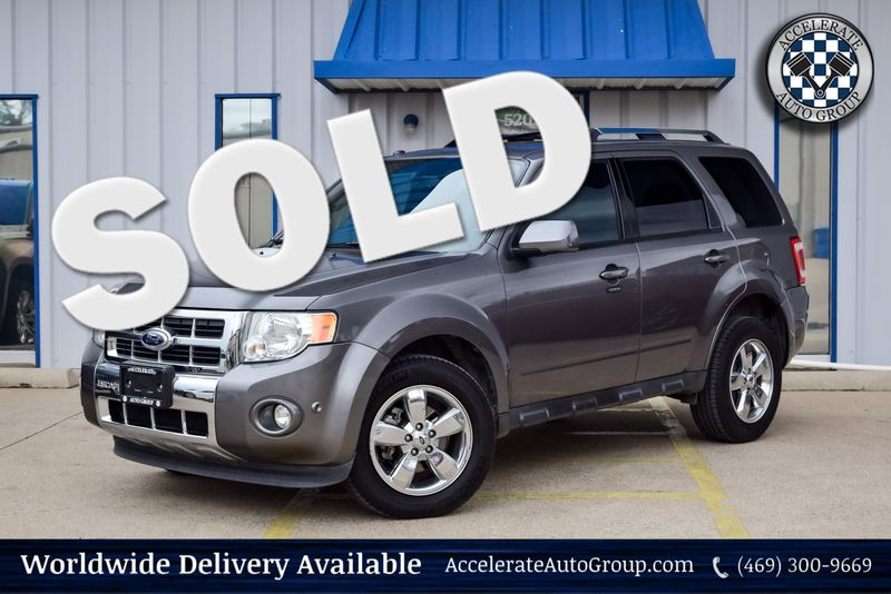 2012 Ford Escape Limited in Rowlett Texas