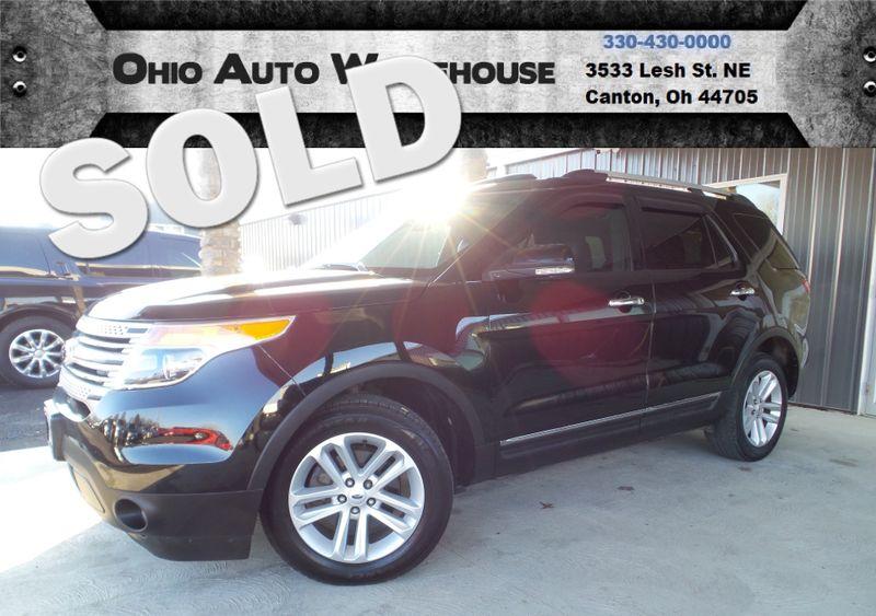 2012 Ford Explorer XLT 4x4 Pano Roof 3rd Row Clal   Canton, Ohio   Ohio Auto Warehouse LLC in Canton Ohio